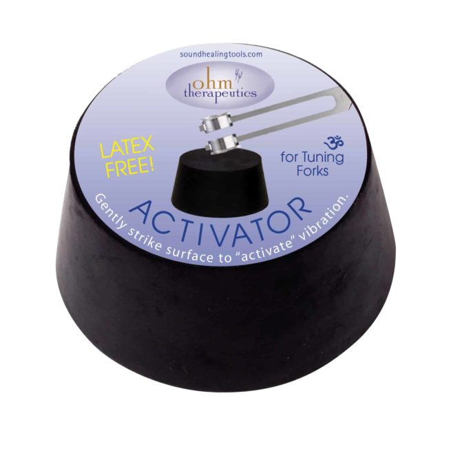 Activator for tuning forks