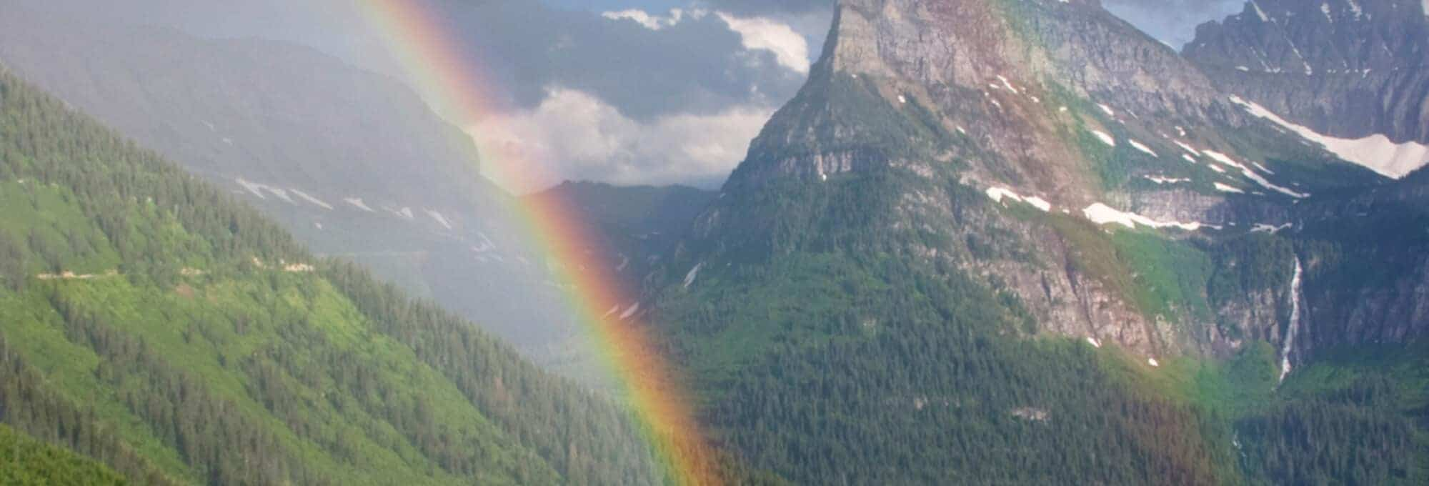 The landscape of the rainbow