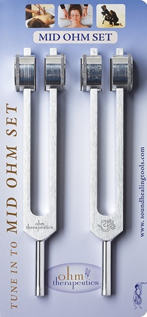Mid-Ohm tuning forks