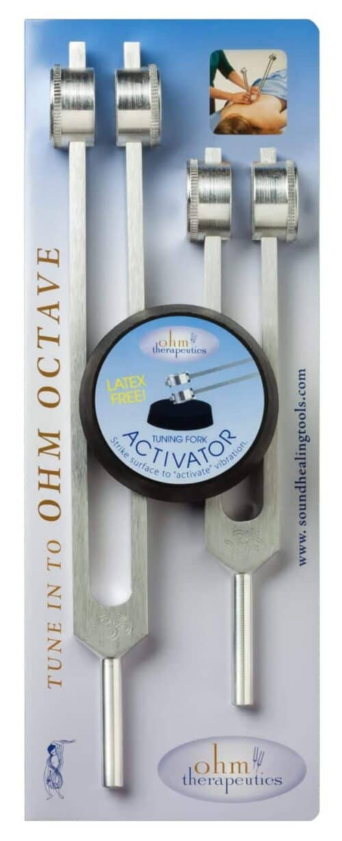 Ohm Octave Set, Mid and Low Ohm Tuning Forks