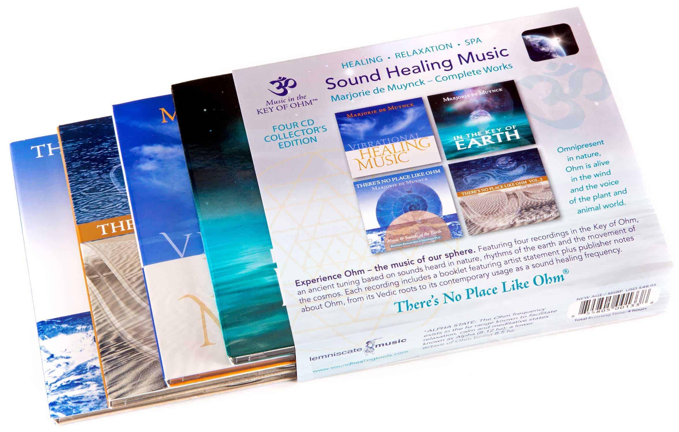 sound healing music 4-CD Set